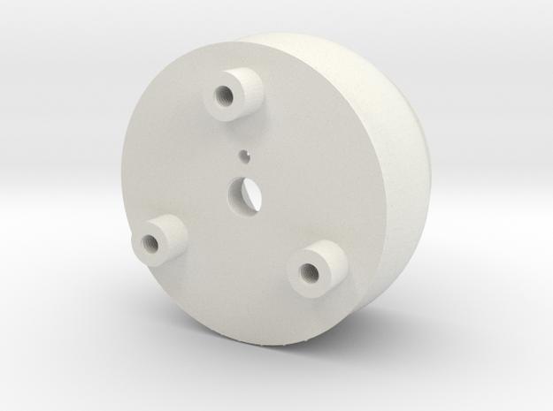08.03.01.03.05 Clamp Body Rev1 in White Natural Versatile Plastic