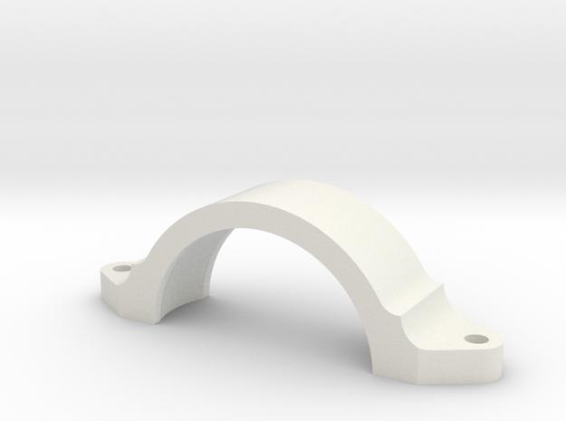 08.03.01.01.02 Reflector Sight Holder Fwd Rev1 in White Natural Versatile Plastic