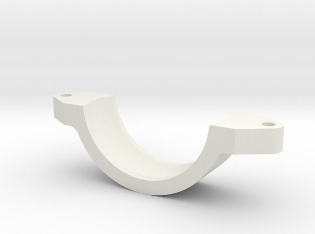 08.03.01.01.04 Reflector Sight Holder Rear Rev1 in White Natural Versatile Plastic