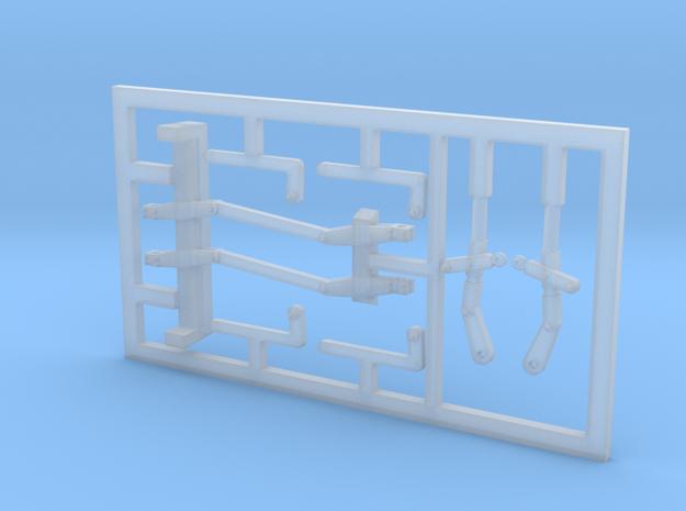 FAU00-250-01 Gestänge Untergestell in Smoothest Fine Detail Plastic