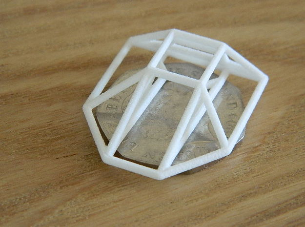 Constrictor Wireframe 1-600 in White Natural Versatile Plastic