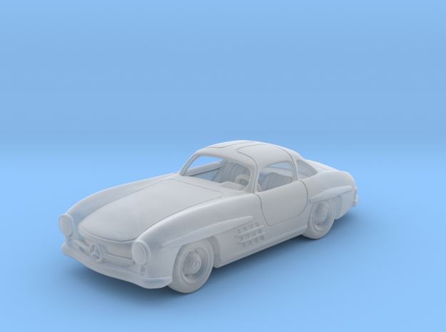 Mercedes 300 SL 1:87 HO in Smooth Fine Detail Plastic