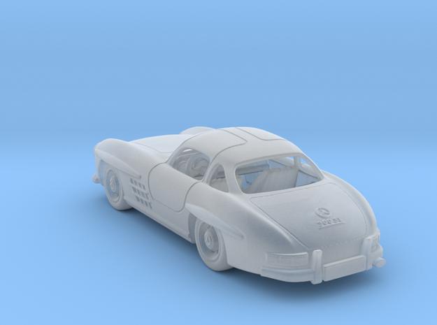 Mercedes 300 SL 1:120 TT in Smooth Fine Detail Plastic