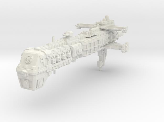 Crucero clase Dictador in White Natural Versatile Plastic