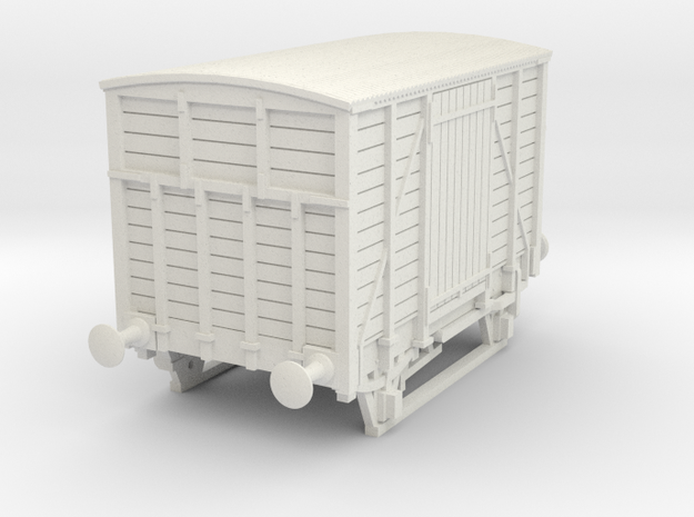 a-64-dwwr-ashbury-13-6-covered-wagon in White Natural Versatile Plastic