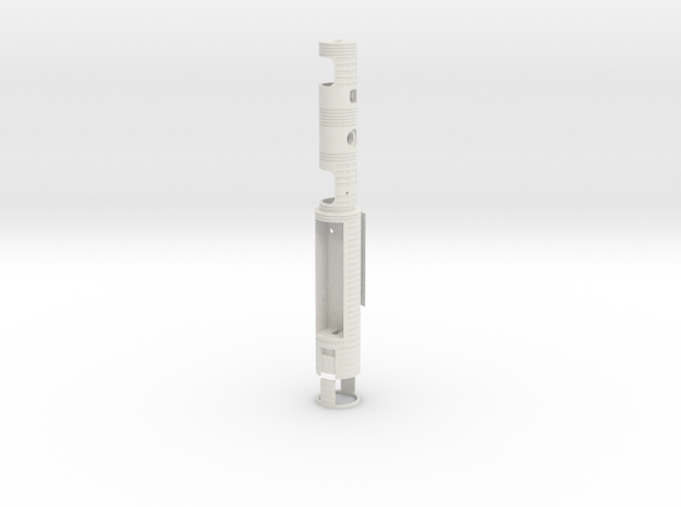 WJ - Night Brother Chassis in White Natural Versatile Plastic