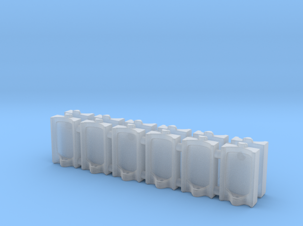 Urinal 02.N Scale (1:150) in Smooth Fine Detail Plastic