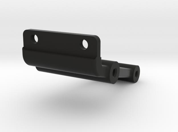SC6.1 wheelie bar bulkhead mount in Black Natural Versatile Plastic