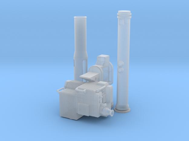 Soporte-TOW-Corto-35-proto-01 in Smooth Fine Detail Plastic