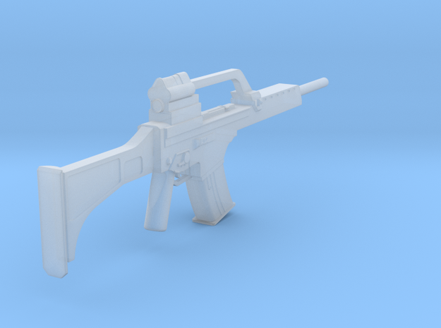 1:6 Heckler and Koch G36 Assault Rifle in Smooth Fine Detail Plastic
