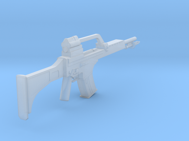 1:6 Heckler and Koch G36 with Bayonet in Smooth Fine Detail Plastic