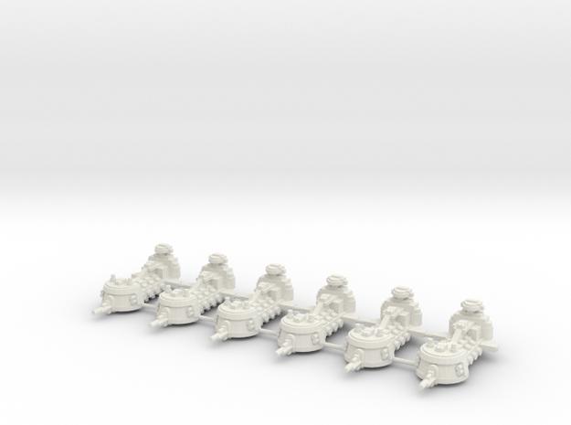 Monitor de defensa  in White Natural Versatile Plastic