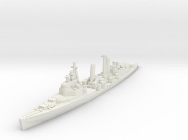 HMS Belfast 1/1800 in White Natural Versatile Plastic