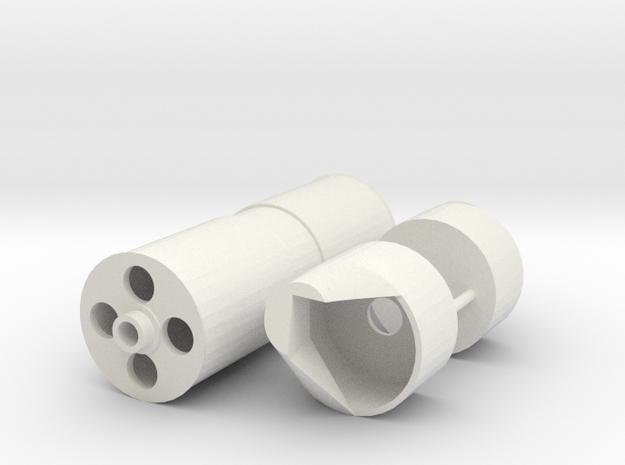 ASD 3213 - Sternroller in White Natural Versatile Plastic