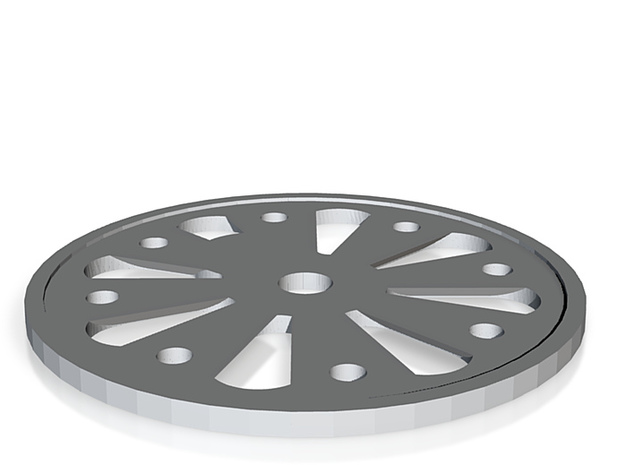 driving wheel centre 3d printed