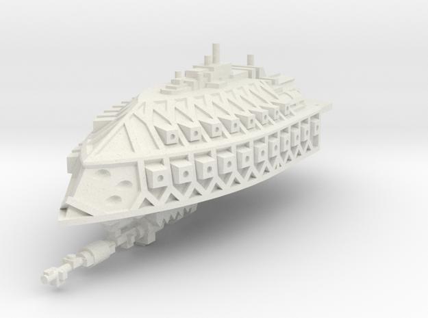 Crucero Ligero de Renombre El Cometa in White Natural Versatile Plastic