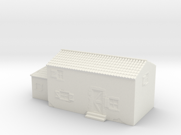 Italian style house 1/160 in White Natural Versatile Plastic