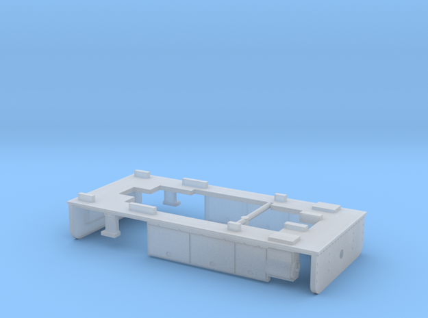 009 Tram footplate and couplings - Kato Chassis in Smooth Fine Detail Plastic