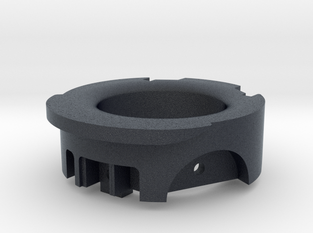 emitter head front in Black PA12