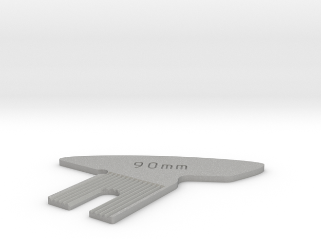 Focus Cam for 90mm on Linhof Technika, Level Bed in Aluminum