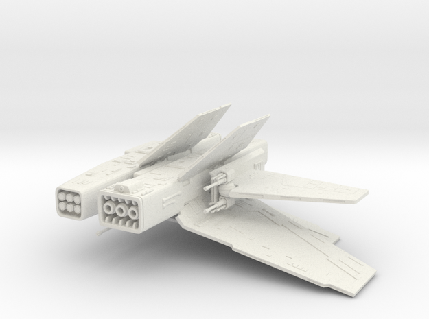 Action Fleet Assault Gunboat conversion kit. in White Natural Versatile Plastic