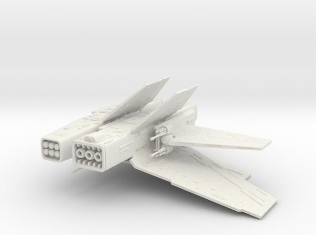 Action Fleet Assault Gunboat conversion kit. in White Natural Versatile Plastic
