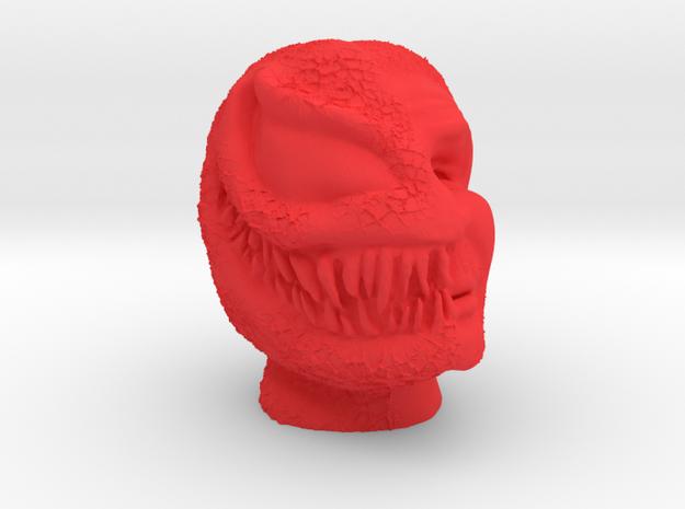 Venom vs. Eddie Brock in Red Processed Versatile Plastic
