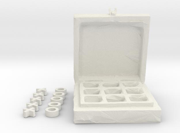 Tick Tack Toe in White Natural Versatile Plastic