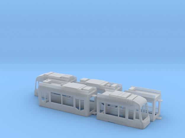Rhein-Neckar-Variobahn RNV6ER in Smooth Fine Detail Plastic: 1:120 - TT