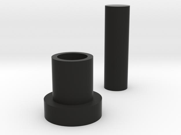 Stax SR-30 Gudgeon Pin in Black Natural Versatile Plastic