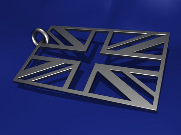 UNION JACK in Stainless Steel