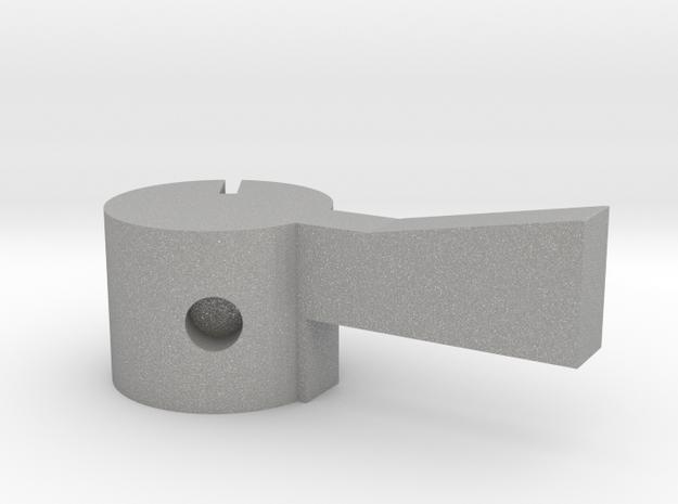 Quad AM2 Selector - left in Aluminum