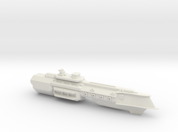 Amphion Class Cruiser in White Natural Versatile Plastic