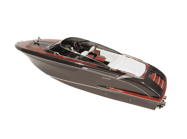"""1/87 RIVA """"Rivamare"""" Luxury Yacht - PART 1 in Smooth Fine Detail Plastic"""