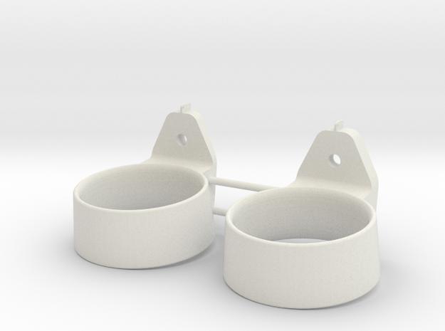 STANTUG 2208 - nozzle (2pcs) in White Natural Versatile Plastic