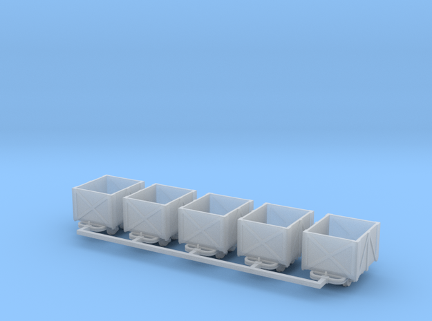 Torflore V1 5erSet - TTf 1:120 in Smooth Fine Detail Plastic