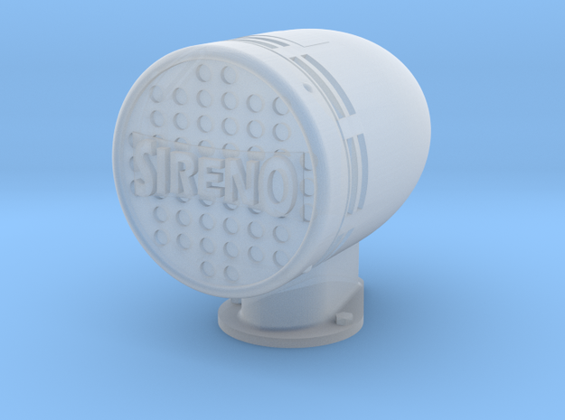 Siren 1/18 scale in Smooth Fine Detail Plastic