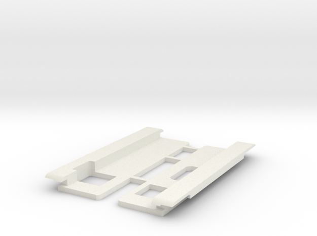 USB Sidecar for MiSTer Case Panels (2/2) (v1.2) in White Natural Versatile Plastic