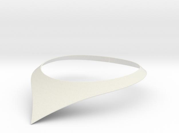 Aurora necklace in White Natural Versatile Plastic