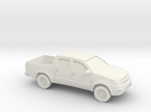 1/50 2005-15 Toyota Hilux in White Natural Versatile Plastic