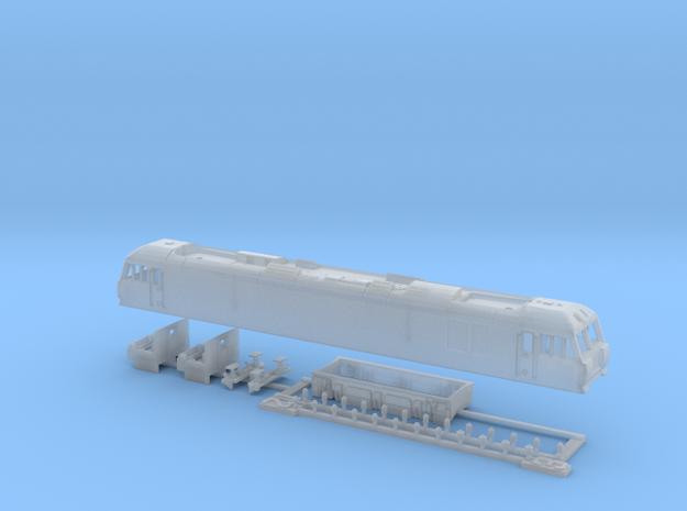 Class 92 N Gauge Complete Kit Bundle in Smooth Fine Detail Plastic