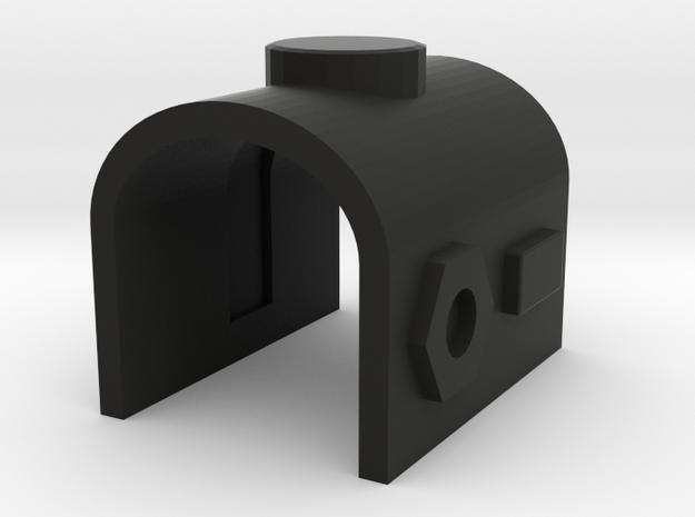 Megatron Fusion Cannon Housing in Black Natural Versatile Plastic