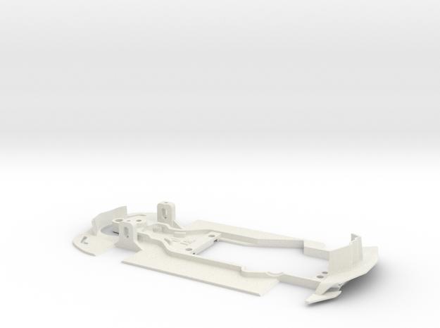 1:32 LTM Chassis (for LTM Slot Car model) in White Natural Versatile Plastic