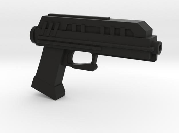 1/6th scale DC-17 blaster pistol in Black Natural Versatile Plastic
