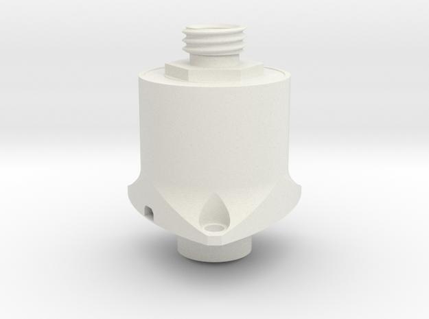 1:1 Apollo RCS Oxidizer Soleniod in White Natural Versatile Plastic