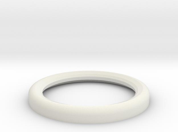 1:1 Apollo RCS Nozzle Attach Nut 02 in White Natural Versatile Plastic