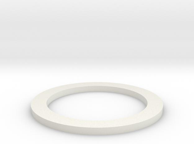 1:1 Apollo RCS Seal in White Natural Versatile Plastic
