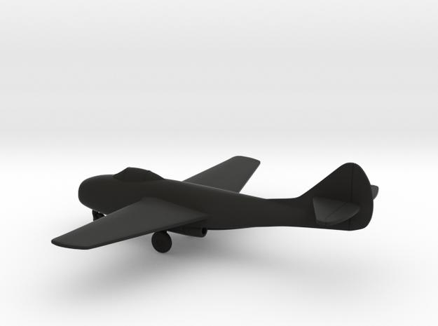 MiG-9 Fargo in Black Natural Versatile Plastic: 1:144
