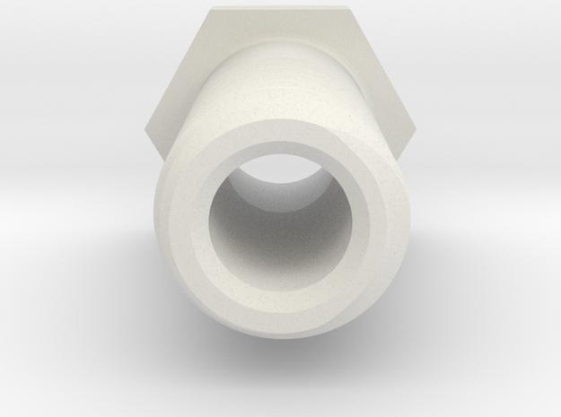 1:1 Apollo RCS Vent in White Natural Versatile Plastic