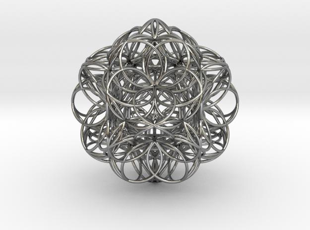 Malek Tous Transponding Radiation Universe in Antique Silver